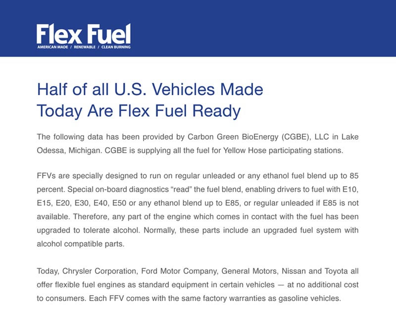 Flex fuel ready document 1